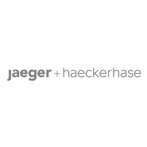 logo jaeger + haeckerhase
