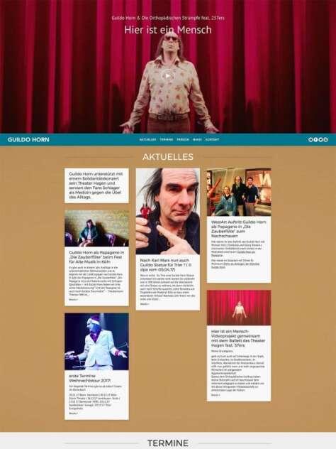 Guildo Horn Website