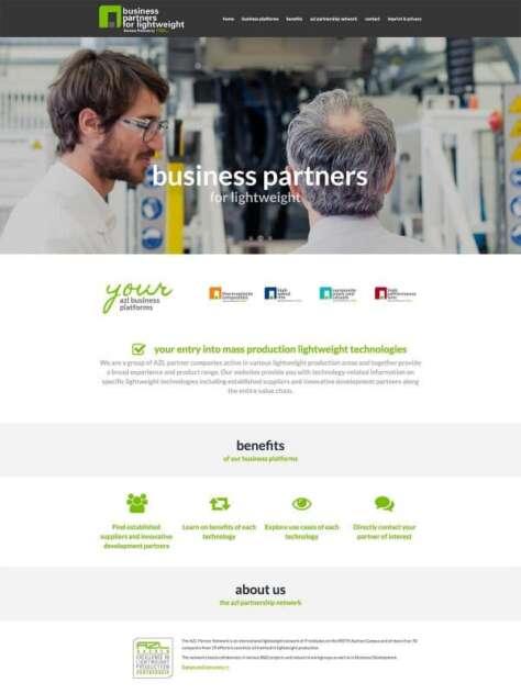 Website AZL Aachen Lightweight Partners