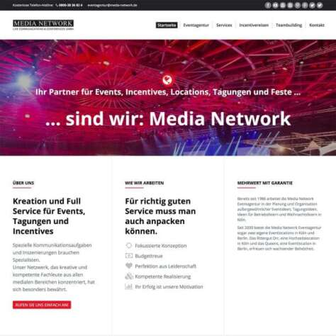 Media Network Website