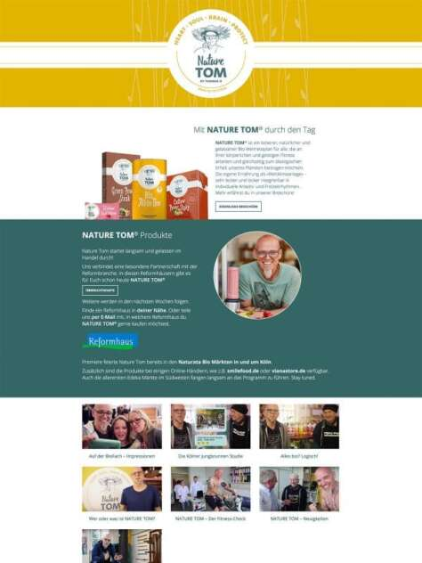 Nature TOM Website
